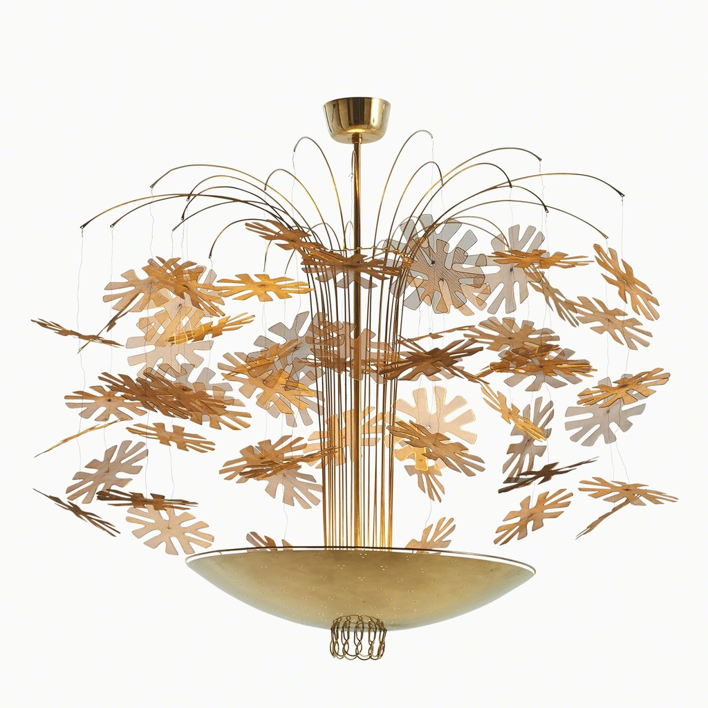 Paavo tynell snowflake chandelier ca 1940 artsy paavo tynell snowflake chandelier ca 1940 dansk mbelkunst mozeypictures Choice Image