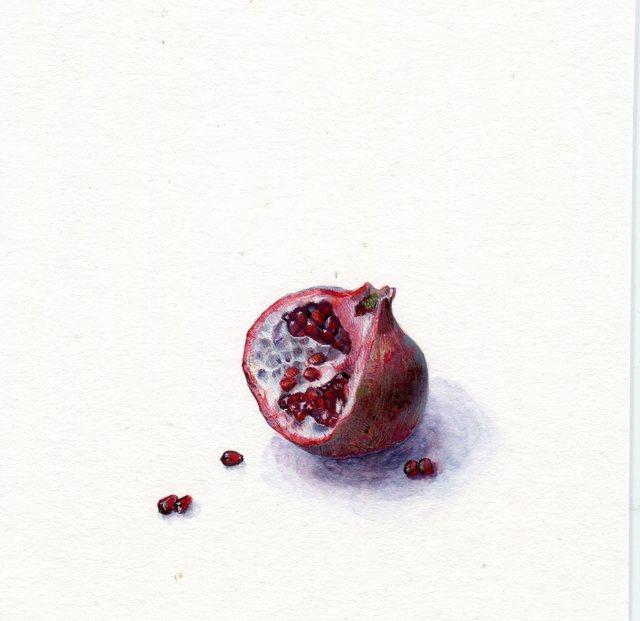 , 'Pomegranate,' 2019, Louis K. Meisel Gallery