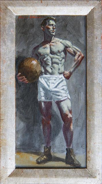 Mark Beard, '[Bruce Sargeant (1898-1938)] Benjamin with Medicine Ball', ClampArt