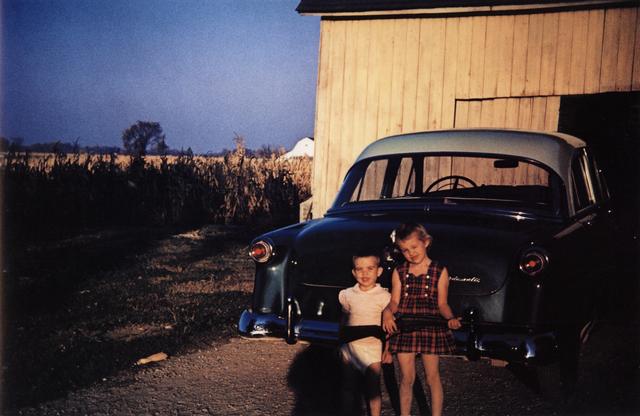 , 'Americans in Kodachrome 1945-65, Children with Gun, Ruel, Indiana. Photographer: Larry Ballard,' 1953, ROSEGALLERY