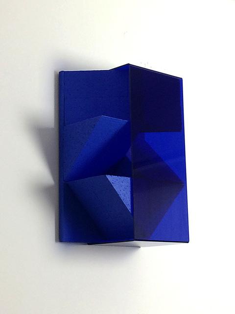 Jon Thomas, 'Untitled', 2020, Sculpture, Blue paint on EPS, &Gallery