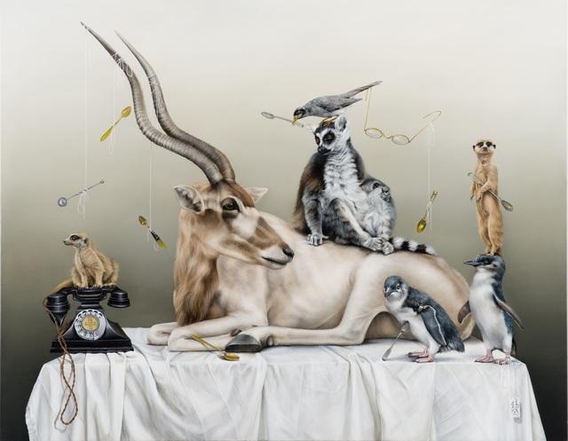 , 'Imaginary Friends,' 2015, Mossgreen Gallery