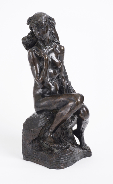 Camille Claudel, 'Young Girl with a Sheaf', ca. 1890, National Museum of Women in the Arts