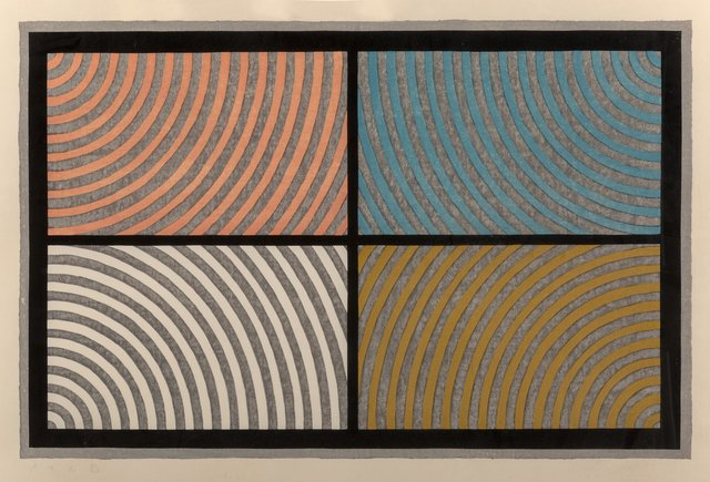 Sol LeWitt, 'Arcs from Four Corners', 1986, Heritage Auctions