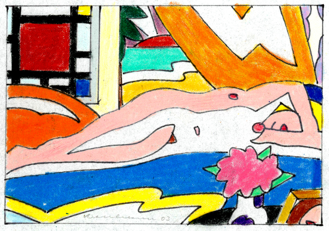 , 'Study for Sunset Nude with Mondrian,' 2003, Rumi Galleries