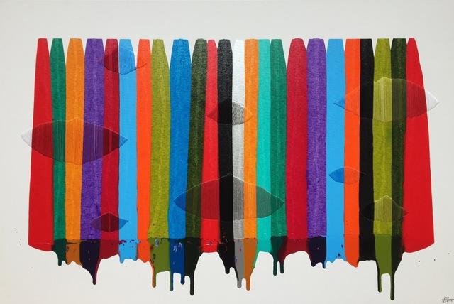 , 'FILS I COLORS CCLXXXVII,' 2017, Slate Contemporary
