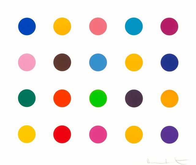 Damien Hirst, 'Esculetin, from 40 Woodcut Spots', 2011, Heritage Auctions