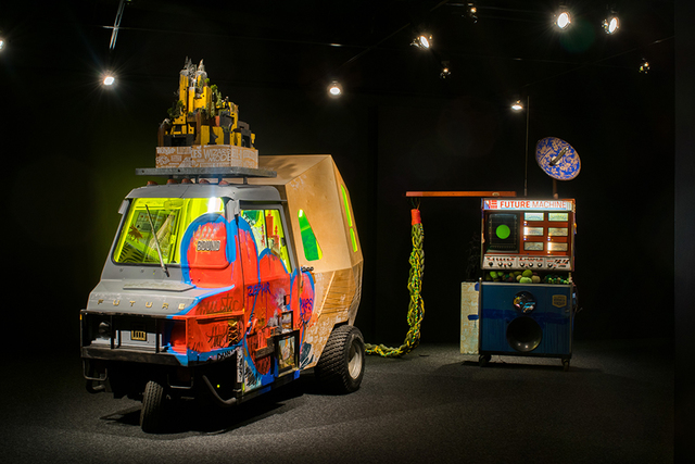 , 'Future Machine: Idea Installation (Phase 1),' 2017, Bellevue Arts Museum