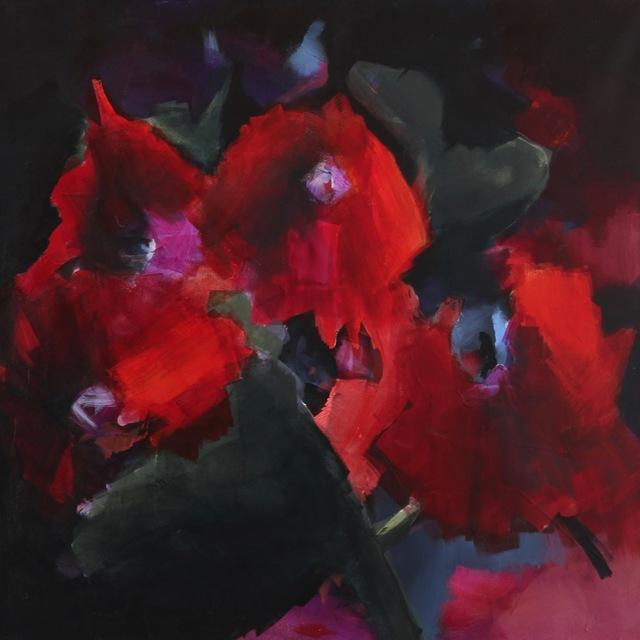 Virginie Bocaert, 'Flander's field', 2018, Painting, Acrylic on canvas, Thompson Landry Gallery