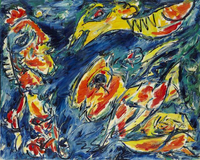 , 'Fuglens Varsel,' 1985, DIE GALERIE