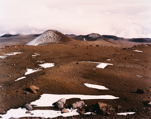 Laura McPhee, 'Satellite Dish near the Summit of Mauna Kea, Hamakua, Hawai'i, 1996, from the series No Ordinary Land', 1996, San Francisco Museum of Modern Art (SFMOMA)