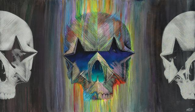 , 'Star Skull Trilogy,' 2018, Galerie Matthew Namour