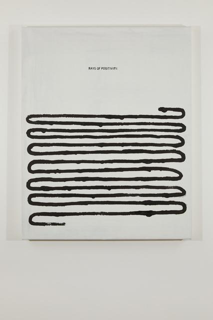 , 'Rays of Positivity,' 2018, Federica Schiavo Gallery