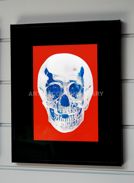 Damien Hirst, 'Skull, Red/Blue', 2012, Arton Contemporary