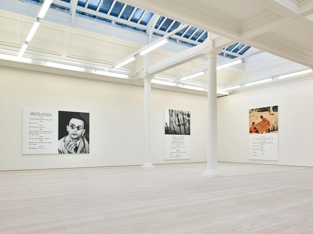 John Baldessari: Pictures & Scripts, Installation View, Marian Goodman Gallery, London, February 28 - April 25, 2015