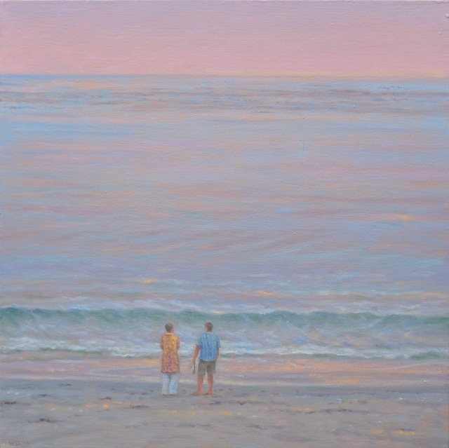 , 'Two by the Sea,' 2017, Andra Norris Gallery