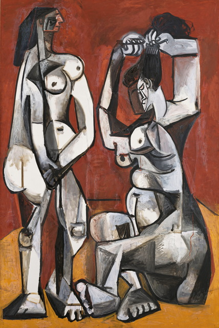 , 'Women at Their Toilette ,' 1956, Montreal Museum of Fine Arts