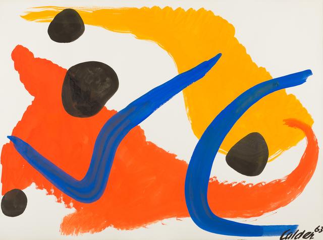 , 'Blue Hooks,' 1963, Childs Gallery