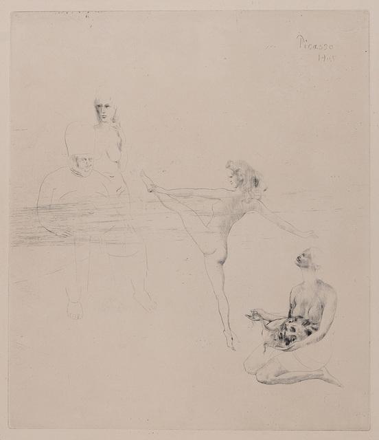 Pablo Picasso, 'Salomé (B. 14)', 1905, Print, Drypoint, on Van Gelder Zonen wove paper, Doyle