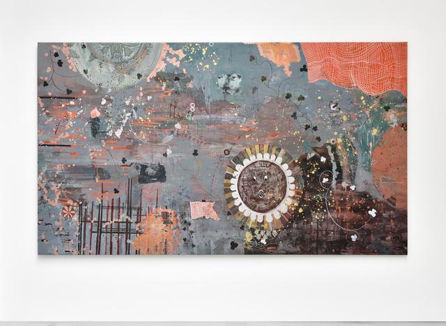 , 'Extension de mon territoire autonome,' 2017, Galerie Christophe Gaillard