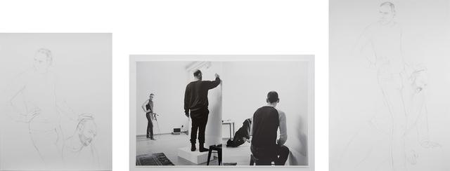, 'DAVID GOLIATH a transmission (the ability to draw),' 2013, Galerie Jocelyn Wolff