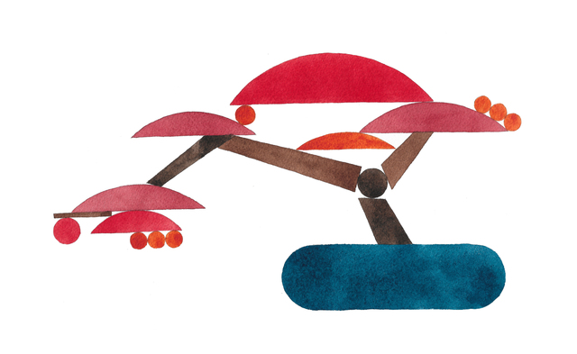 , 'Bonsai (Left Leaning Maple),' 2019, Shulamit Nazarian