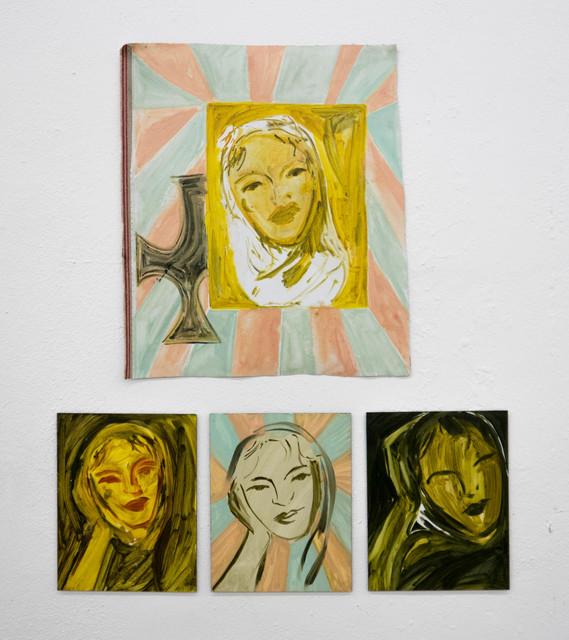 , 'Portraits of Leopolida,' 2018, Barbara Feinman Gallery