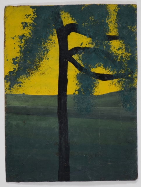 , 'Single Tree With Three Branches Against Yellow Sky,' , Ingleby Gallery