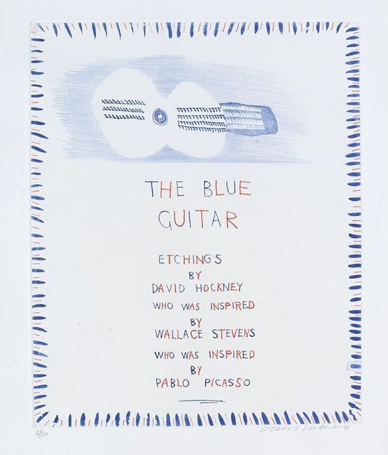 , 'The Blue Guitar,' 1977, Tanya Baxter Contemporary