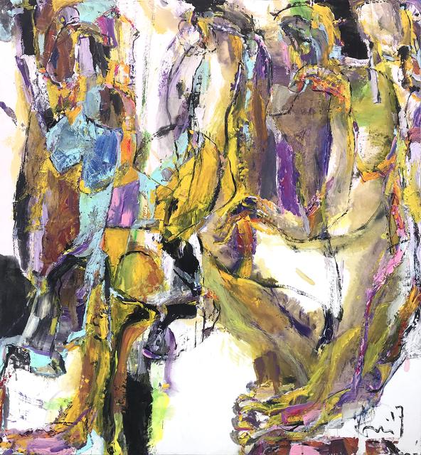 , 'Masquerade IV,' 2018, Han Art