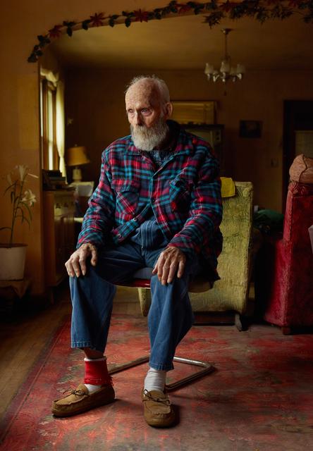 , 'Uncle Teed, Lynn Lincoln Bauer, Sioux County, Nebraska,' 2013, Kopeikin Gallery