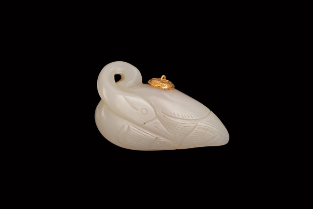 , 'Swan-shaped pendant container with gold lid,' , Art Museum of the Chinese University of Hong Kong