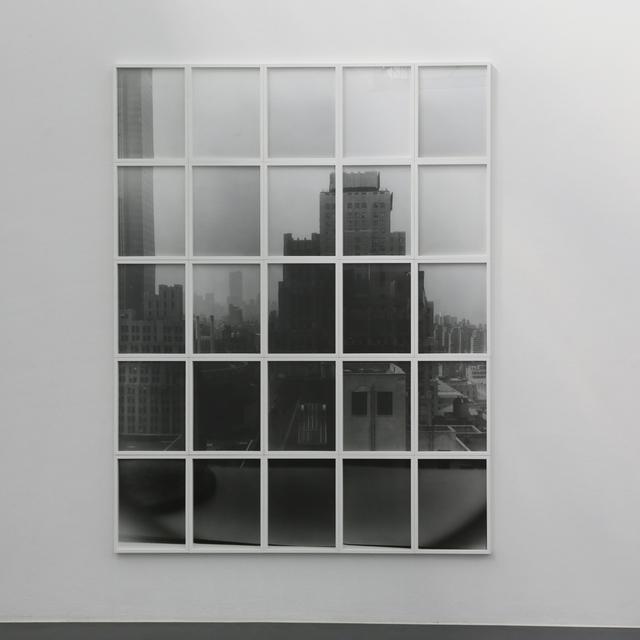 , 'Window, October 11, 1995,' 2014-2015, Walter Storms Galerie