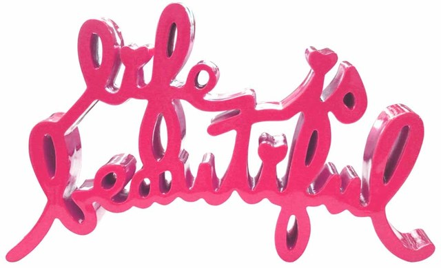 , 'Life is Beautiful (Pink),' 2017, Contessa Gallery