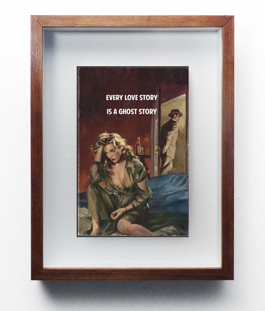 , 'Every love story is a ghost story,' 2015, Nanda Hobbs Contemporary