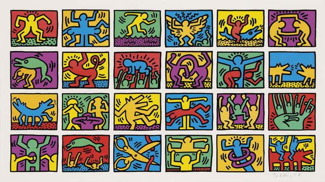 Keith Haring, 'Retrospect', 1989, Zeit Contemporary Art