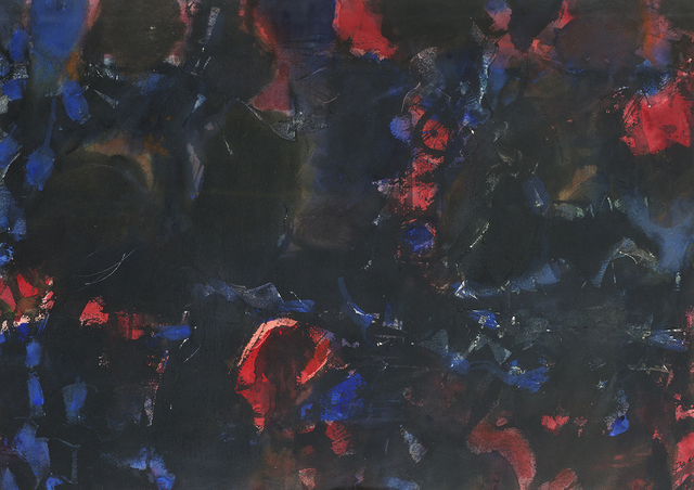, 'Untitled (55-W3A),' 1955, Berry Campbell Gallery