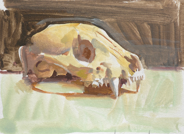 , 'Yellow Skull,' 2014, Gallery 1261