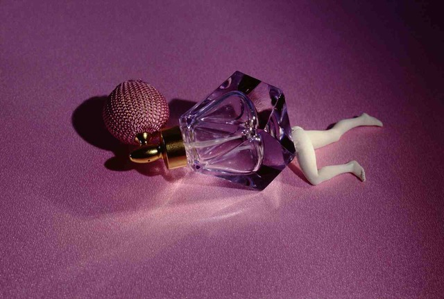 , 'Lying Perfume Bottle (lavender),' 1990, Salon 94