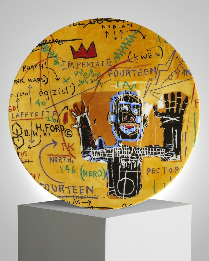 Colored cast - After Jean Michel Basquiat All Colored Cast 2016 Ehc Fine