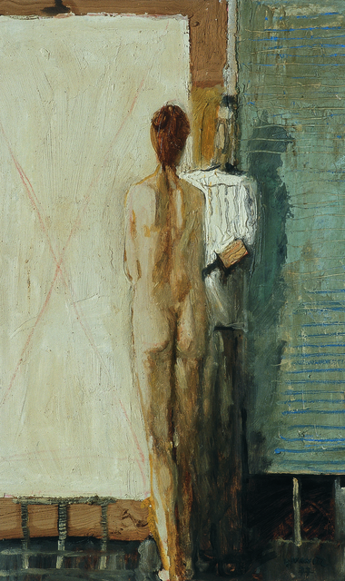 , 'Artist with a Female Figure,' 1977, Museum of Modern Art Dubrovnik