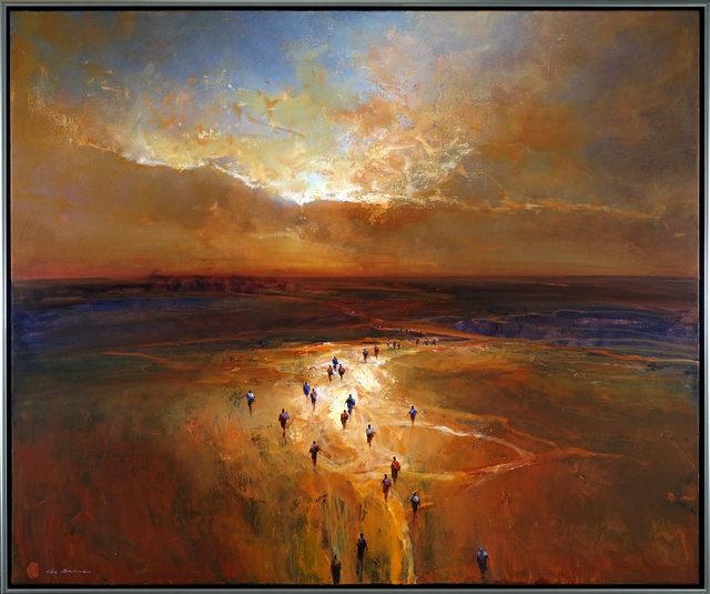 , 'Sunset Journey,' 2018, Wentworth Galleries
