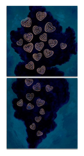 , 'Candy Hearts,' 2015, Ruiz-Healy Art
