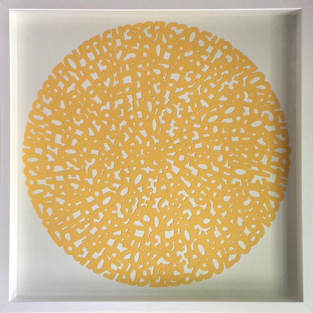 , 'Concentric Yellow,' 2017, Parlor Gallery
