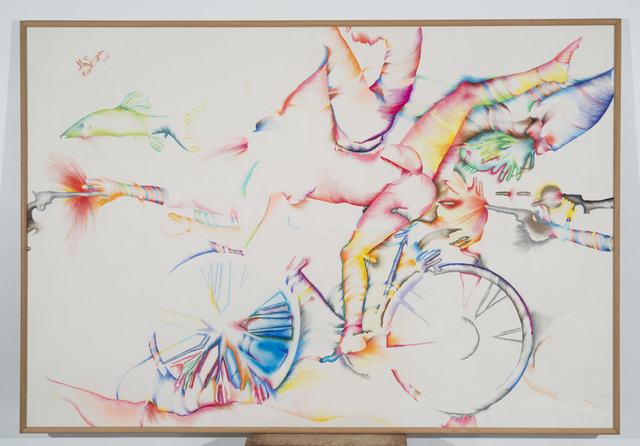 , 'Lick the Tire of My Bicycicle,' 1974, El Museo del Barrio