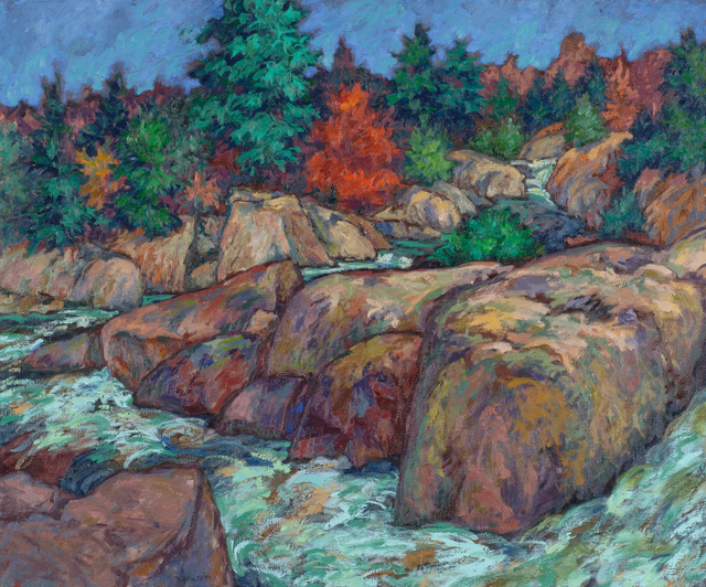 , 'Moose River at Lyonsdale,' 1975, Caldwell Gallery Hudson