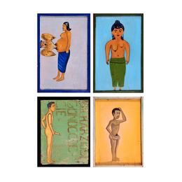 Quatre enseignes de médecine traditionnelle