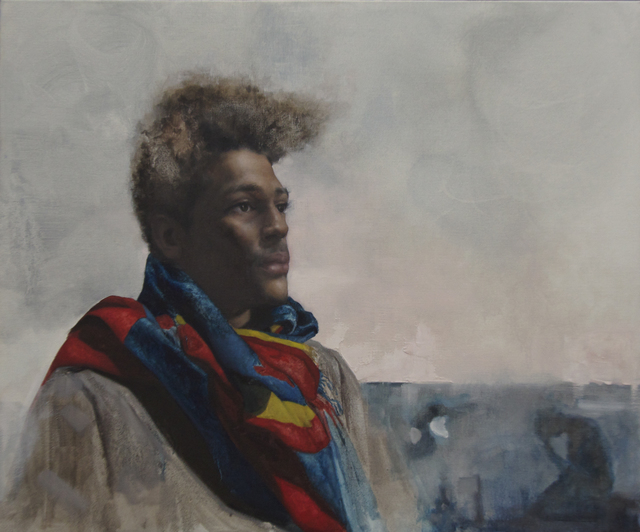 , 'Baltimore Superman,' 2018, Booth Gallery