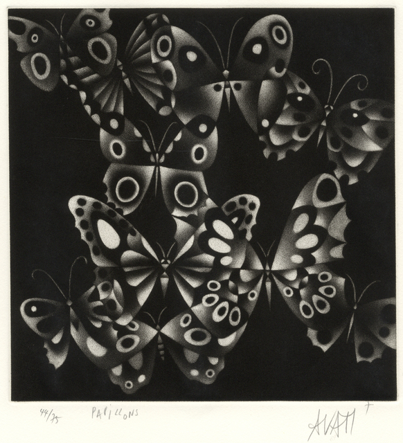 Mario Avati, 'Papillons', 1970, Stone + Press Gallery