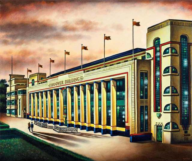 , 'Hoover Building - Dusk,' 2018, Catto Gallery